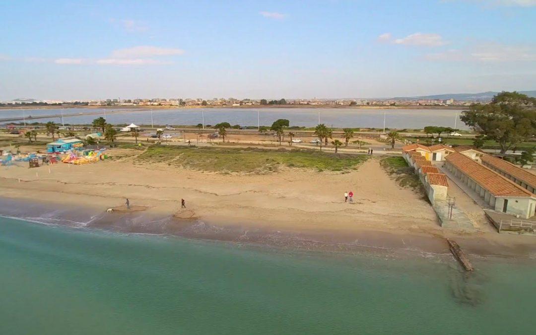 Il Poetto, Cagliari – Aerial Drone Video HD