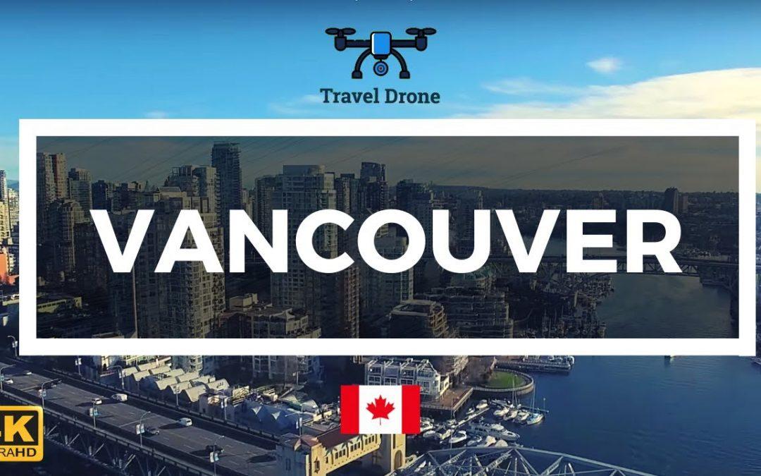 Vancouver, Canada 🇨🇦 – Drone Footage 4K – Aerial Drone Flight
