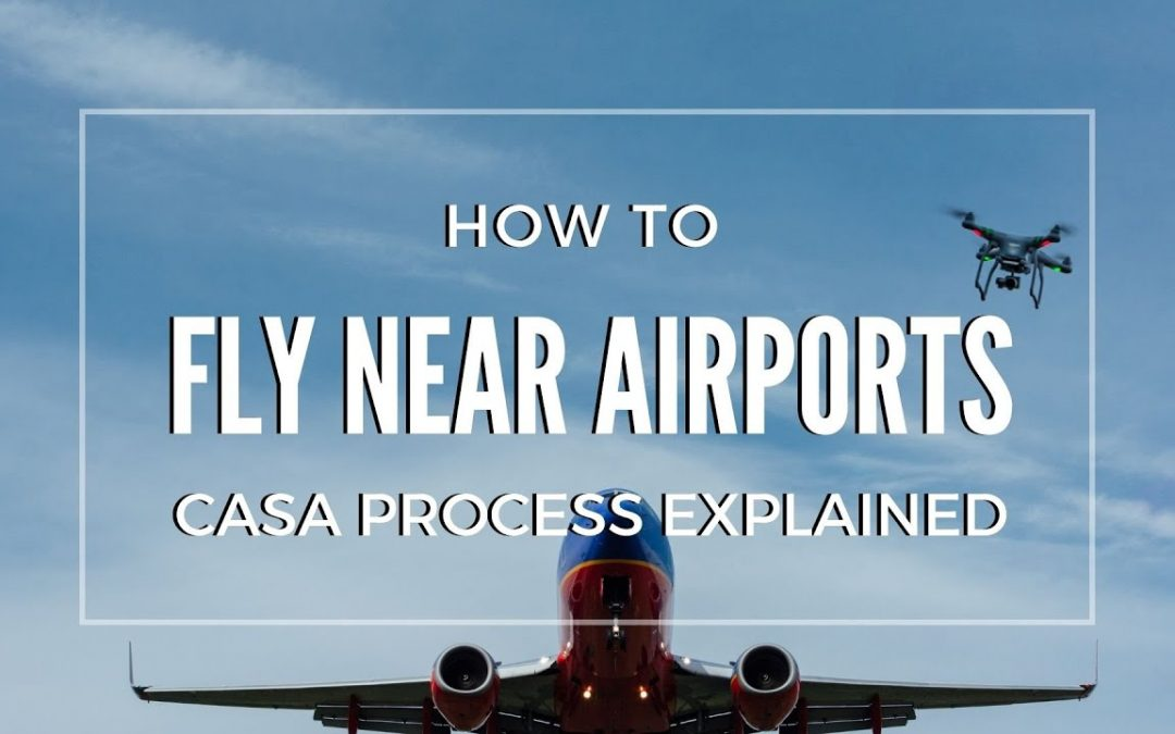 How to fly a drone near an airport legally | Full CASA process explained