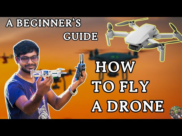 Drone tutorial for beginners in tamil |How to fly a drone for beginners