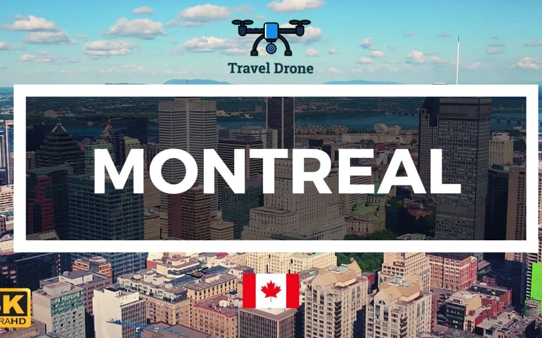 Montreal, Canada 🇨🇦 – Drone Footage 4K – Aerial Drone Video