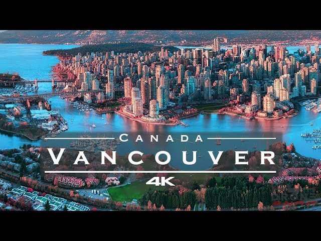 Vancouver, Canada 🇨🇦 – by drone [4K]
